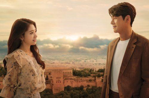 Park Shin-hye (kiri) dan Hyun Bin (kanan) dalam serial drama Korea Selatan 'Memories of the Alhambra'