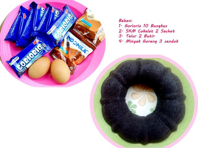 Brownies Goriorio Modal Dibawah 10 Ribu, Anti Gagal dan Anti Ribet